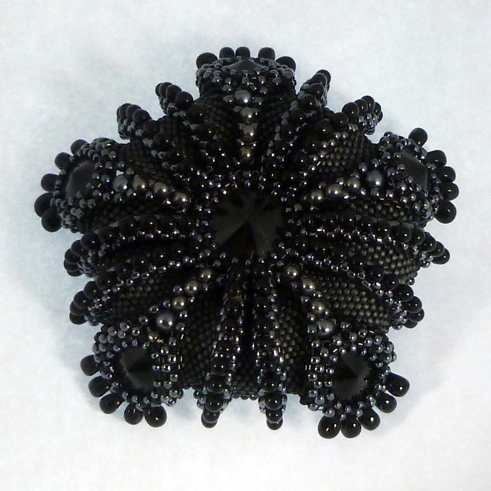 Tutorial Urchin Wings Mirror Pendantbrooch With Gothic