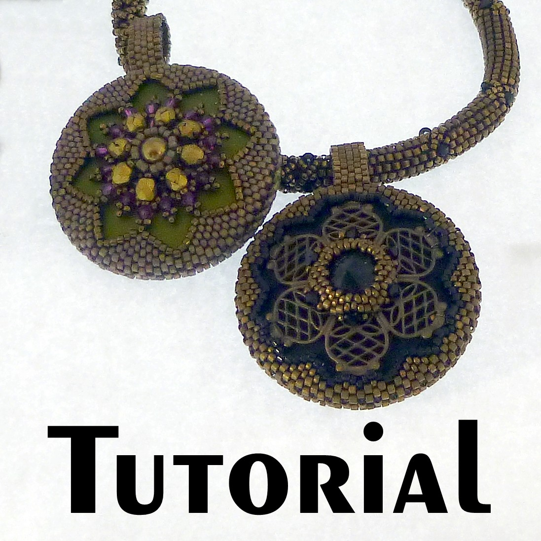Tutorial gothic medallion reversible pendant with rope mikki tutorial gothic medallion reversible pendant with rope mikki ferrugiaro designs mozeypictures Choice Image